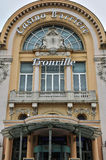 La Francia, città pittoresca di Trouville in Normandie Fotografie Stock Libere da Diritti