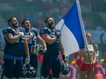 La Francia contro finland Fotografia Stock Libera da Diritti