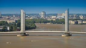 La Francia, l'Aquitania, Gironda, 33, Bordeaux Bastide, La Bastide, Po Fotografia Stock Libera da Diritti