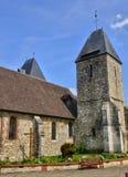 La Francia, la città pittoresca di Charleval fotografia stock