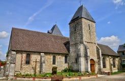 La Francia, la città pittoresca di Charleval immagini stock libere da diritti