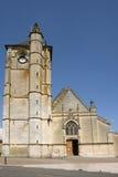 La Francia, la città pittoresca di Ivry la Bataille Fotografie Stock Libere da Diritti