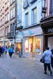 La Francia, la città pittoresca di Rouen in Normandie Fotografie Stock Libere da Diritti