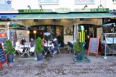 La Francia, la città pittoresca di Rouen in Normandie Immagini Stock