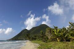 La Francia, la Martinica, spiaggia Immagine Stock