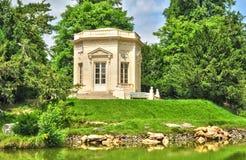 La Francia, la proprietà di Marie Antoinette nel parc di PA di Versailles Immagine Stock Libera da Diritti