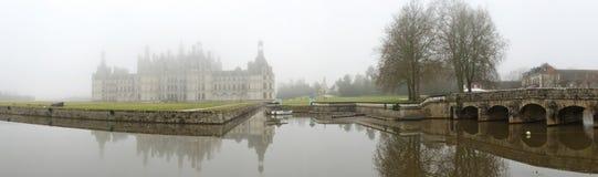 La Francia. Loire Valley. Castello di Chambord. Panorama Fotografie Stock