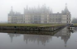 La Francia. Loire Valley. Vista sul castello di Chambord Fotografie Stock Libere da Diritti