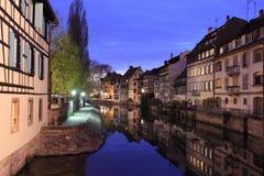 La Francia minuta a Strasburgo Fotografia Stock Libera da Diritti