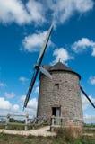 La Francia, mulino a vento Fotografia Stock Libera da Diritti
