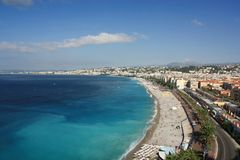 La Francia, Nizza, Côte d Azur Fotografie Stock