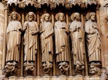 La Francia, Parigi: Cattedrale del Notre Dame fotografia stock