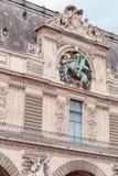 La Francia, Parigi - 17 giugno 2011: Museo del Louvre Immagine Stock Libera da Diritti