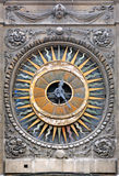 La Francia, Parigi: L'orologio della chiesa della st Paul Fotografia Stock