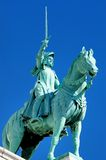 La Francia, Parigi: Particolare di Sacre Coeur Fotografie Stock Libere da Diritti