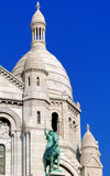 La Francia, Parigi: Sacre Coeur Immagine Stock Libera da Diritti