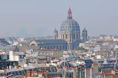 La Francia, Parigi: vista piacevole della città Immagine Stock Libera da Diritti