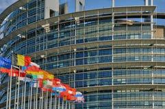 La Francia, Parlamento Europeo di Strasburgo Fotografie Stock Libere da Diritti