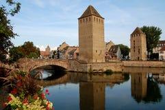 La Francia piccola a Strasburgo Fotografia Stock