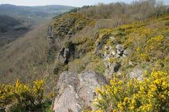 La Francia, Roche pittoresco d Oetre nel sur Orne di Philibert del san Fotografie Stock Libere da Diritti