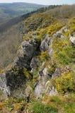 La Francia, Roche pittoresco d Oetre nel sur Orne di Philibert del san Immagine Stock Libera da Diritti