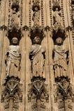 La Francia Rouen: la cattedrale gotica di Rouen Immagine Stock Libera da Diritti