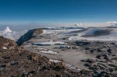 La frattura occidentale, Kilimanjaro Immagine Stock