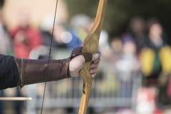 La freccia iniziata Fotografia Stock Libera da Diritti