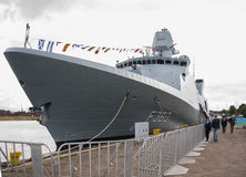 La fregata HDMS Niels Juel (F363) Immagine Stock
