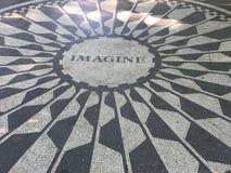 La fresa coloca el mosaico NYC Imagen de archivo libre de regalías