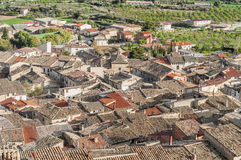 La Fresneda village at Teruel, Spain Stock Photo