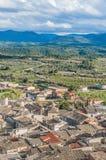 La Fresneda village at Teruel, Spain Stock Image