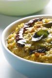 La friture de Daal est le plat de délicatesse de l'Inde du nord Photographie stock