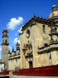 La Frontera España de Jerez de de la catedral de San Salvador fotos de archivo