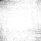 La frontière raye la texture grunge, noir sur le fond blanc Photos stock