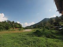 La frontiera naturale della Tailandia fotografia stock