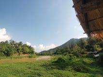 La frontiera naturale della Tailandia fotografia stock libera da diritti