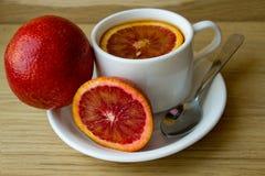 La fruta cítrica roja Fotos de archivo libres de regalías