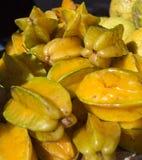 La fruta de estrella o fruta del Carambola Imagenes de archivo