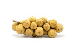 La fruta de Longkong o el parasiticum de Lansium es fruta tropical en Thail Fotos de archivo libres de regalías