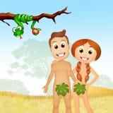 La fruta del pecado stock de ilustración