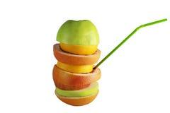 La fruta es salud Imagen de archivo libre de regalías