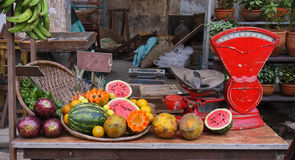 La frutta è bella Immagini Stock Libere da Diritti