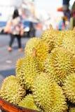 La frutta del Durian in Tailandia ha un gusto dolce fotografia stock libera da diritti