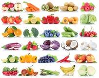La frutta e la raccolta delle verdure hanno isolato le bacche arancio b della mela Fotografie Stock