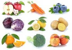 La frutta e la raccolta delle verdure hanno isolato le bacche arancio p della mela Immagini Stock Libere da Diritti
