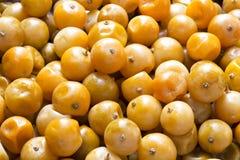 La frutta ha conservato il citrus japonica arancio Thunb fotografie stock