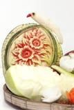 La frutta ha intagliato Fotografia Stock Libera da Diritti