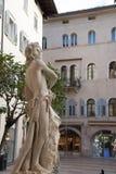 La fuente de fauno Trento, Italie images libres de droits