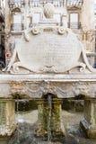 La fuente de Garraffello en Palermo, Italia Fotografía de archivo libre de regalías
